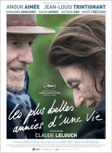 Les plus belles années d'une vie de Lelouch affiche définitive Cannes 2019.png