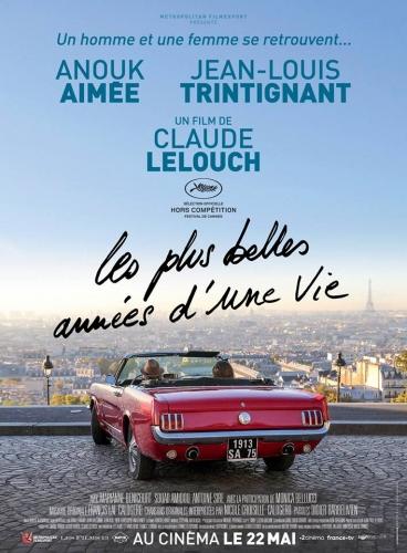 Les plus belles années d'une vie de Claude Lelouch Festival de Cannes 2019 affiche.jpg